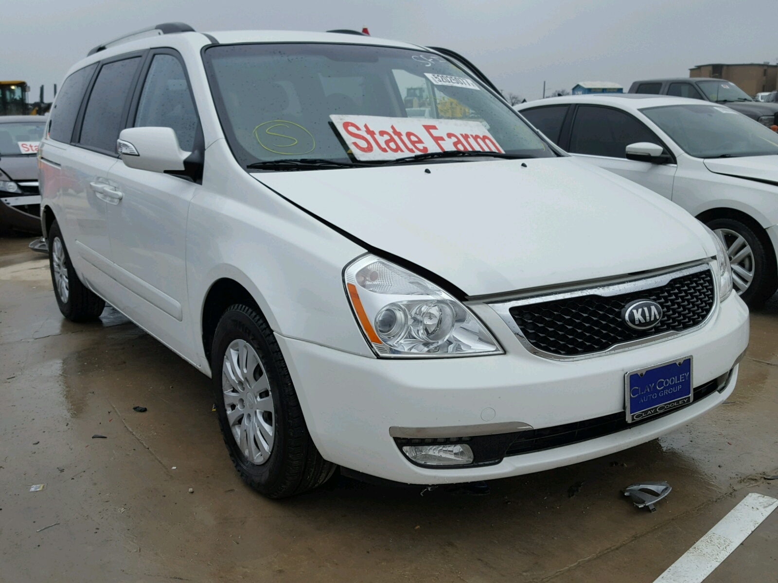 gray kia tx copart sorento on left sale dallas carfinder auto en view lot title ba online vehicle in salvage auctions