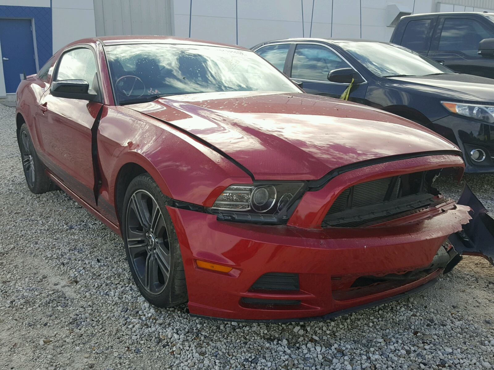 2013 FORD MUSTANG 3.7L
