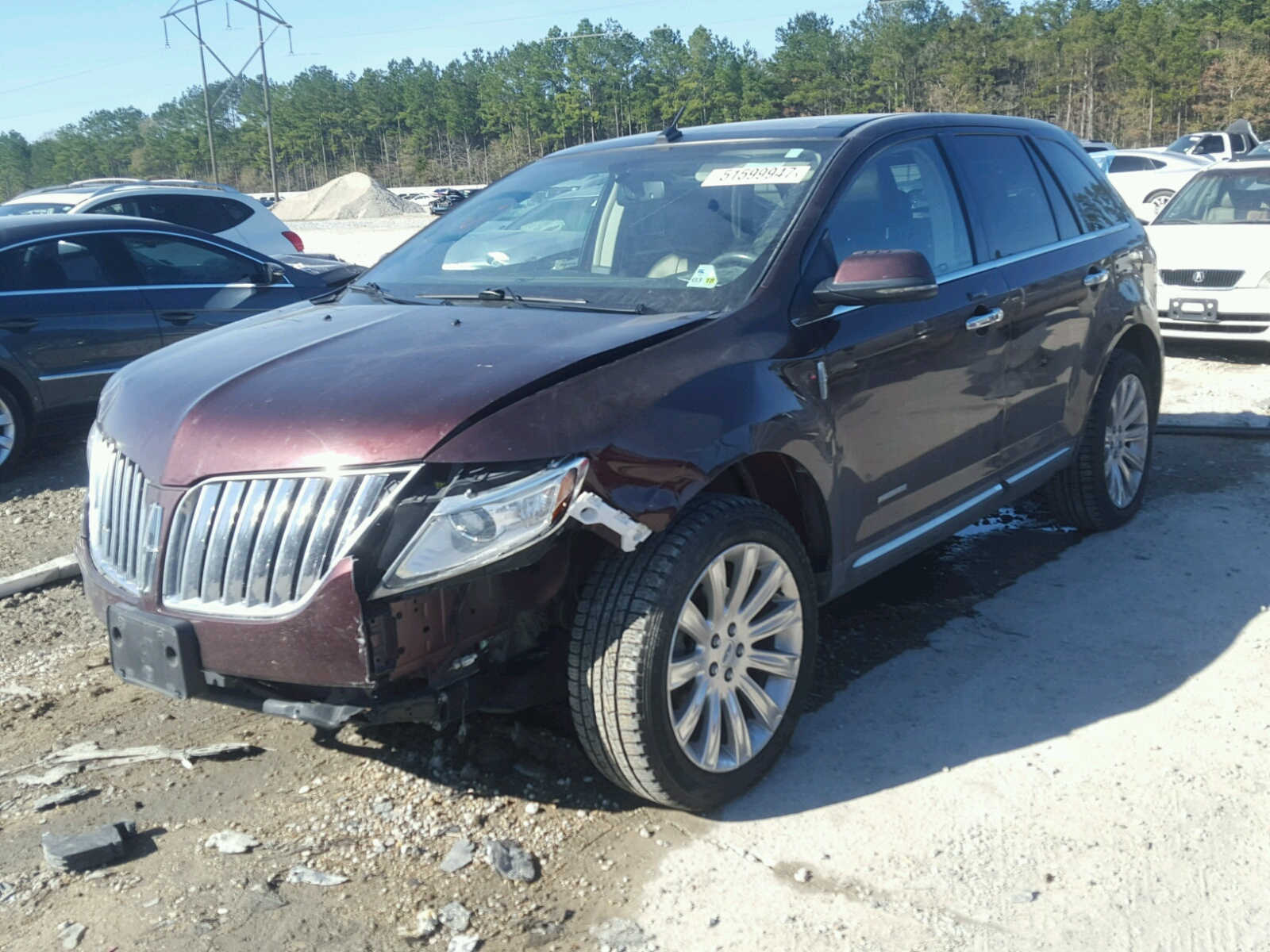 used limited for suv mkx awd lincoln sale