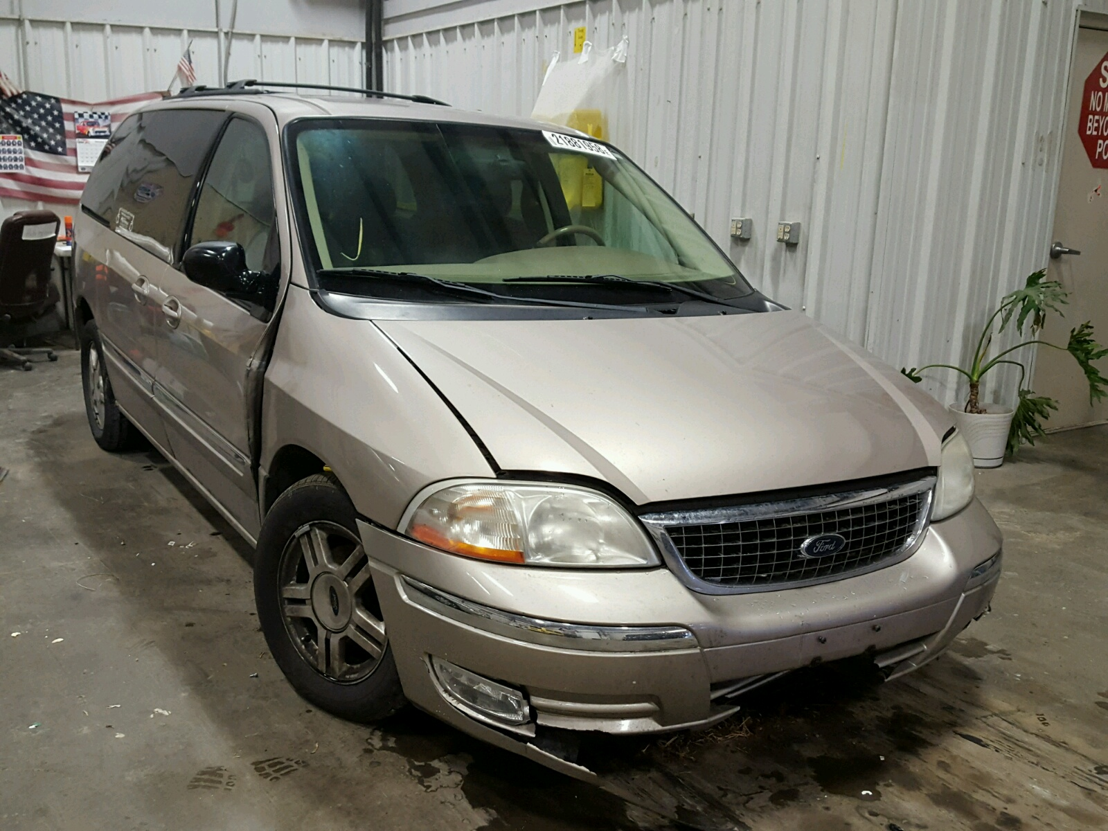 Auto Auction Ended On Vin 2fmza50413bb56664 2003 Ford Windstar W In Sel S 38l