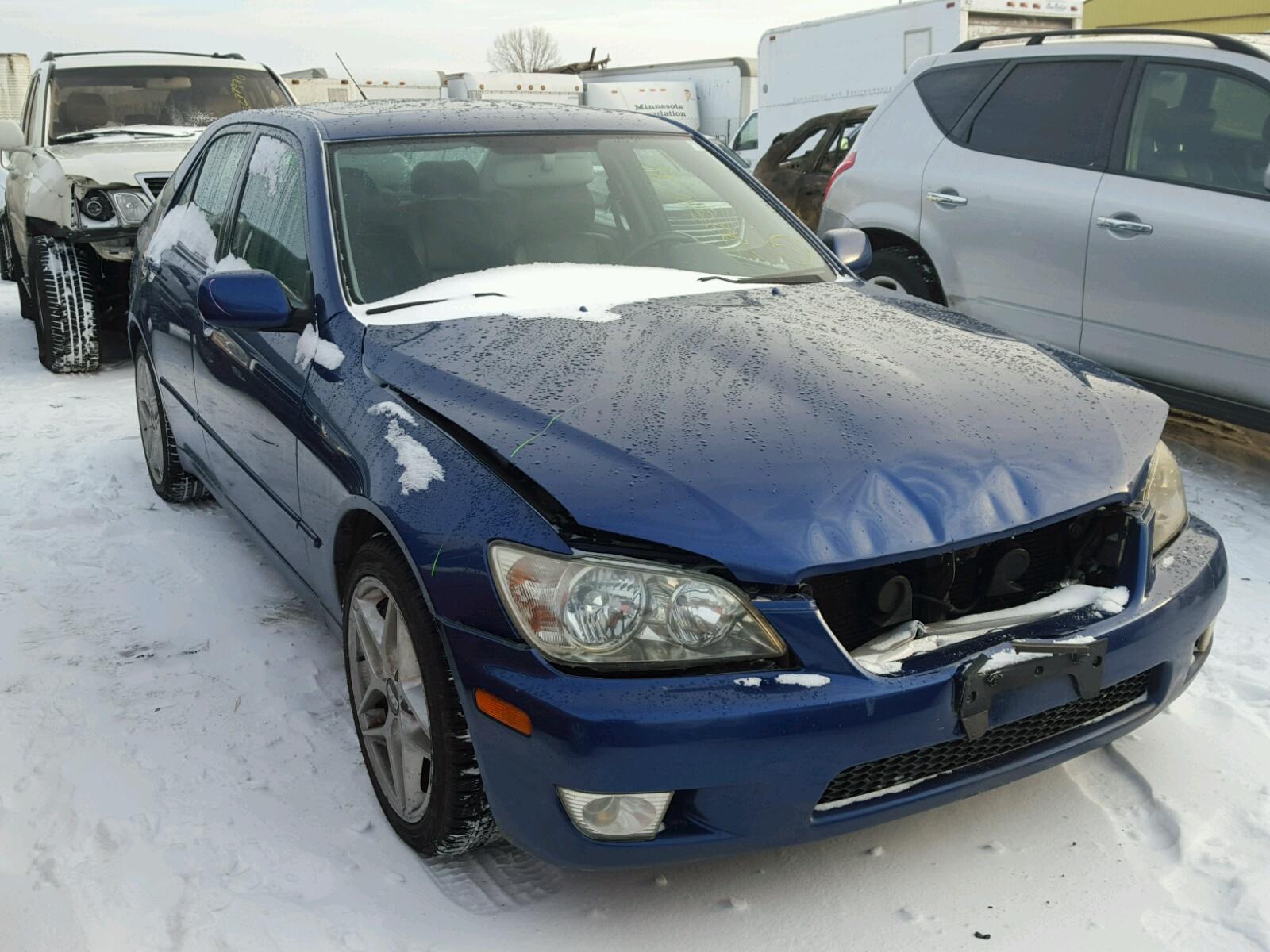 Auto Auction Ended on VIN: JTHBD192920034253 2002 Lexus Is 300 in MN -  Minneapolis