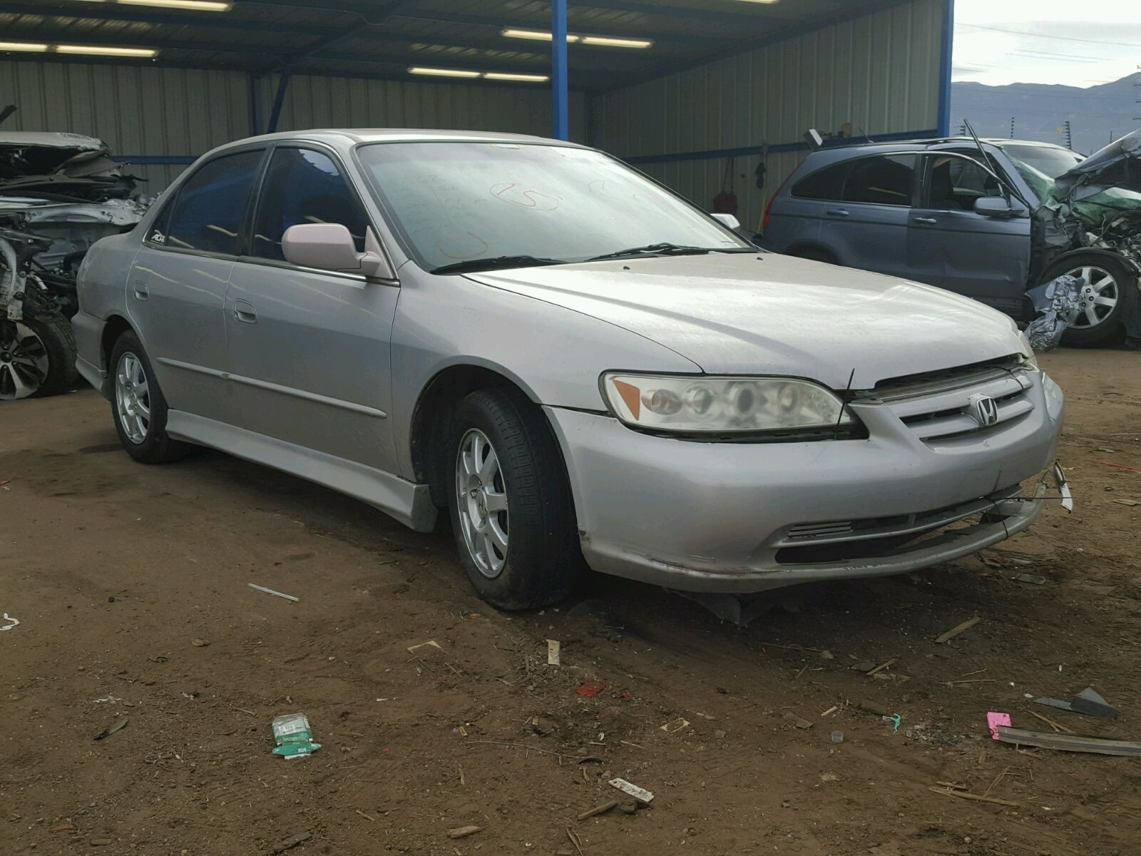 2002 Honda Accord Blue Book U003eu003e Auto Auction Ended On VIN: JHMBB62491C011566  2001 HONDA