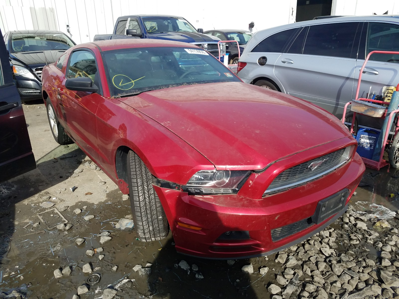 2013 FORD MUSTANG - 1ZVBP8AM4D5280760