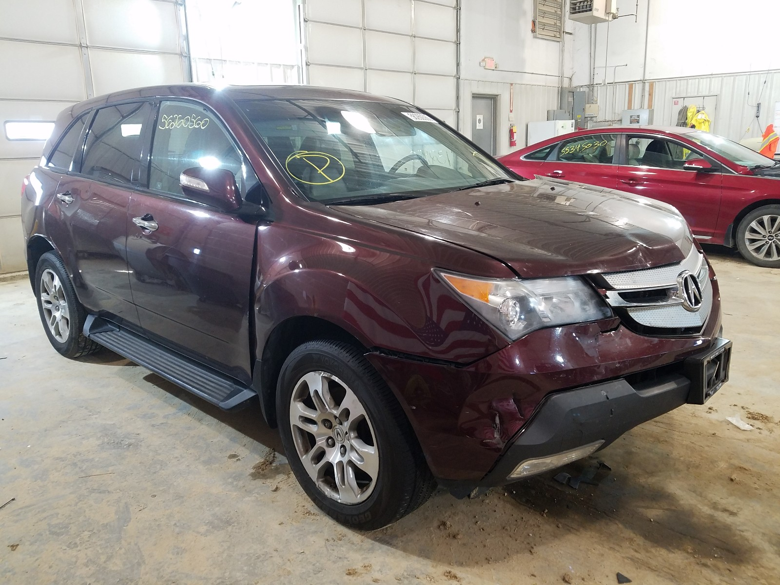 2009 Acura Mdx For Sale At Copart Columbia Mo Lot 56260560 Salvagereseller Com