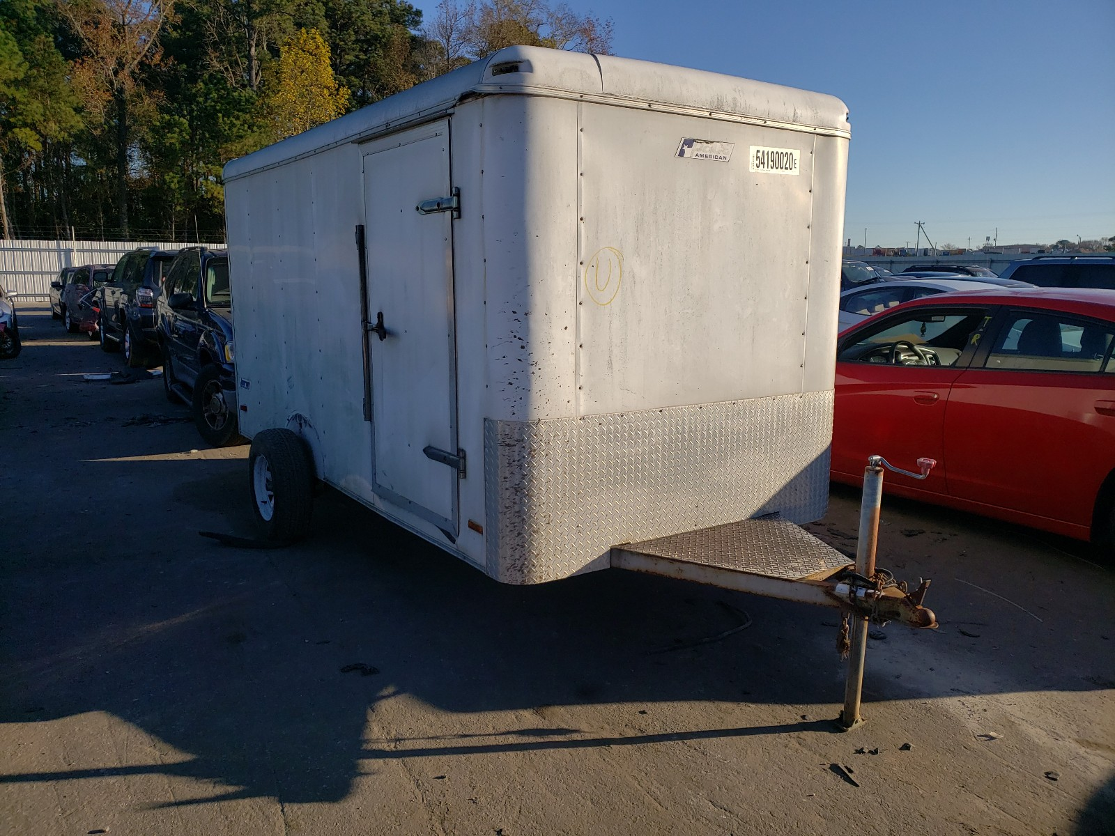 2003 Pace American Cargo Trailer