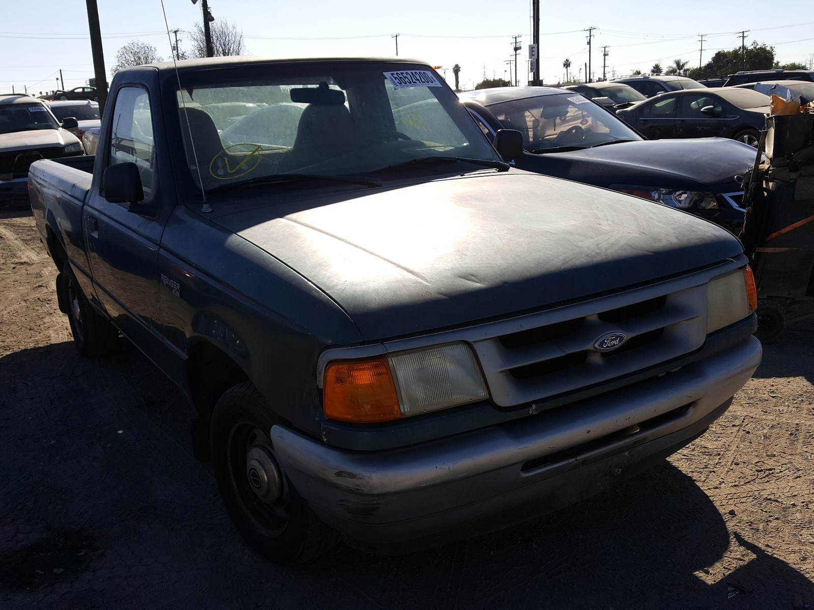 1996 FORD RANGER - 1FTCR10A0TPB45777
