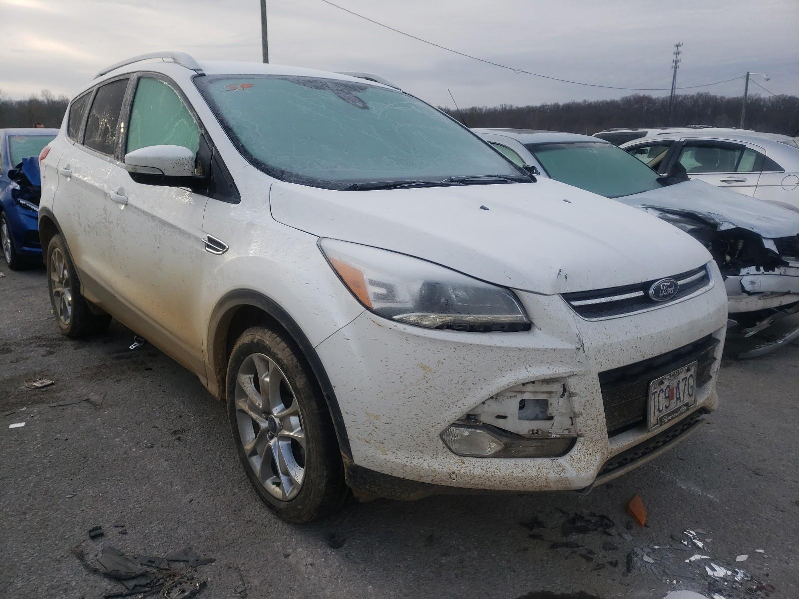 Ford Escape Titanium 2015 De Venta En Copart Louisville Ky Lot 57641520