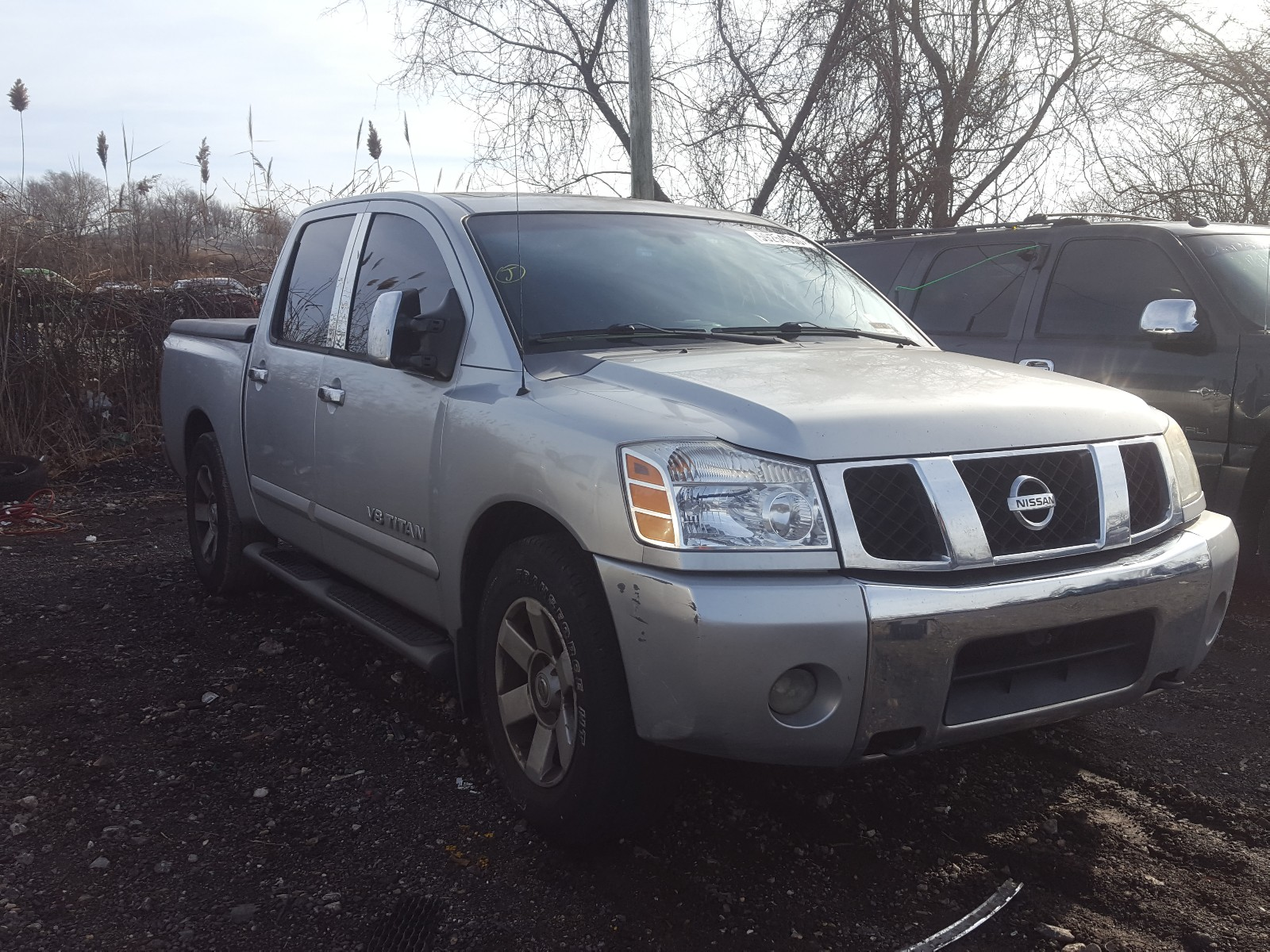 2007 Nissan Titan For Sale At Copart Baltimore Md Lot 59254030 Salvagereseller Com