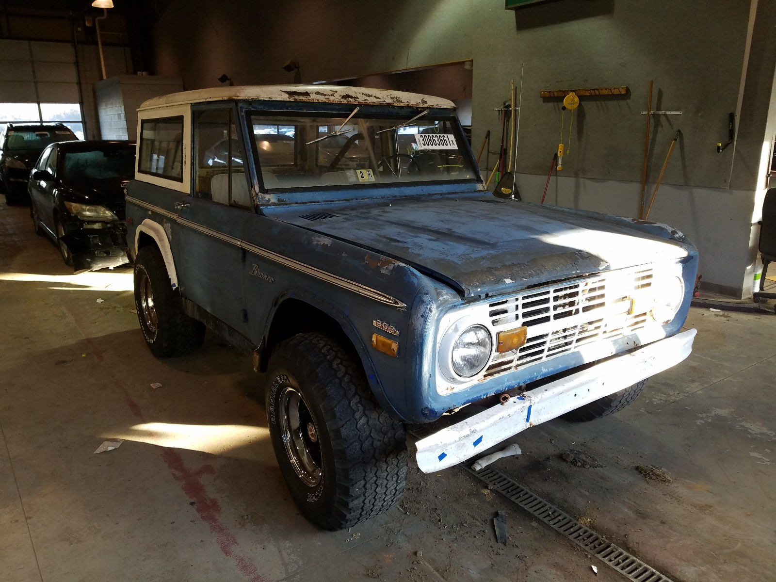 1970 Ford Bronco For Sale At Copart Sandston Va Lot 30863661 Salvagereseller Com