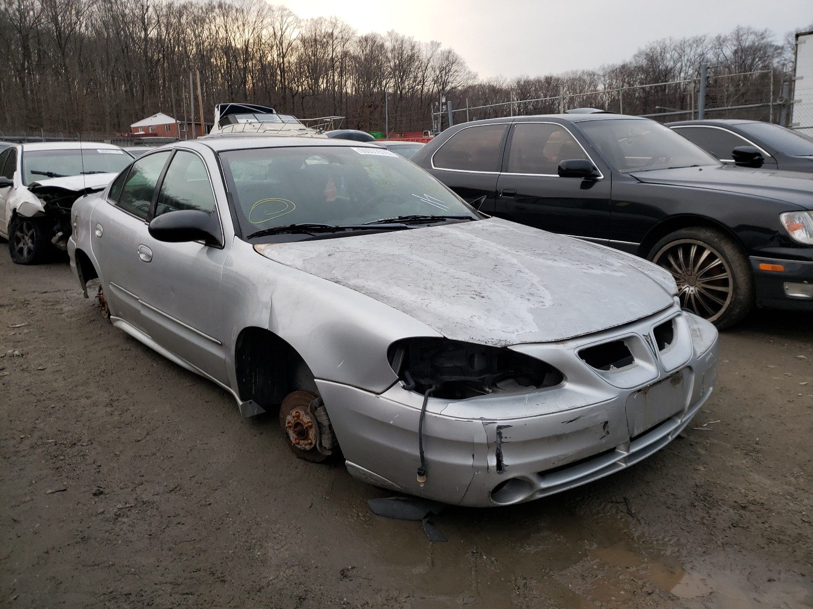 2003 Pontiac Grand Am S For Sale At Copart Finksburg Md Lot 60977570 Salvagereseller Com