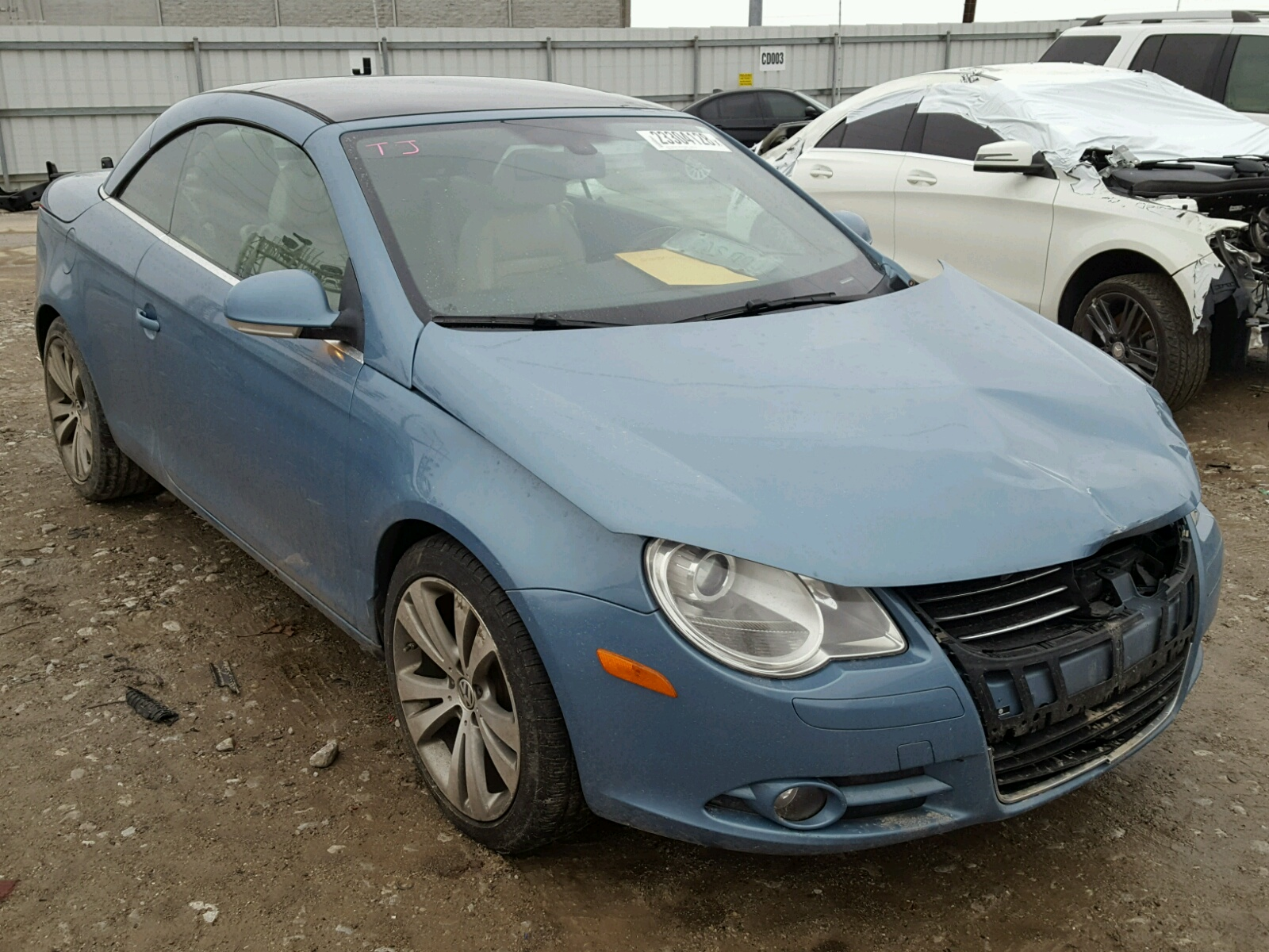 2008 Volkswagen Eos Vr6 3 2l For At Copart Auto