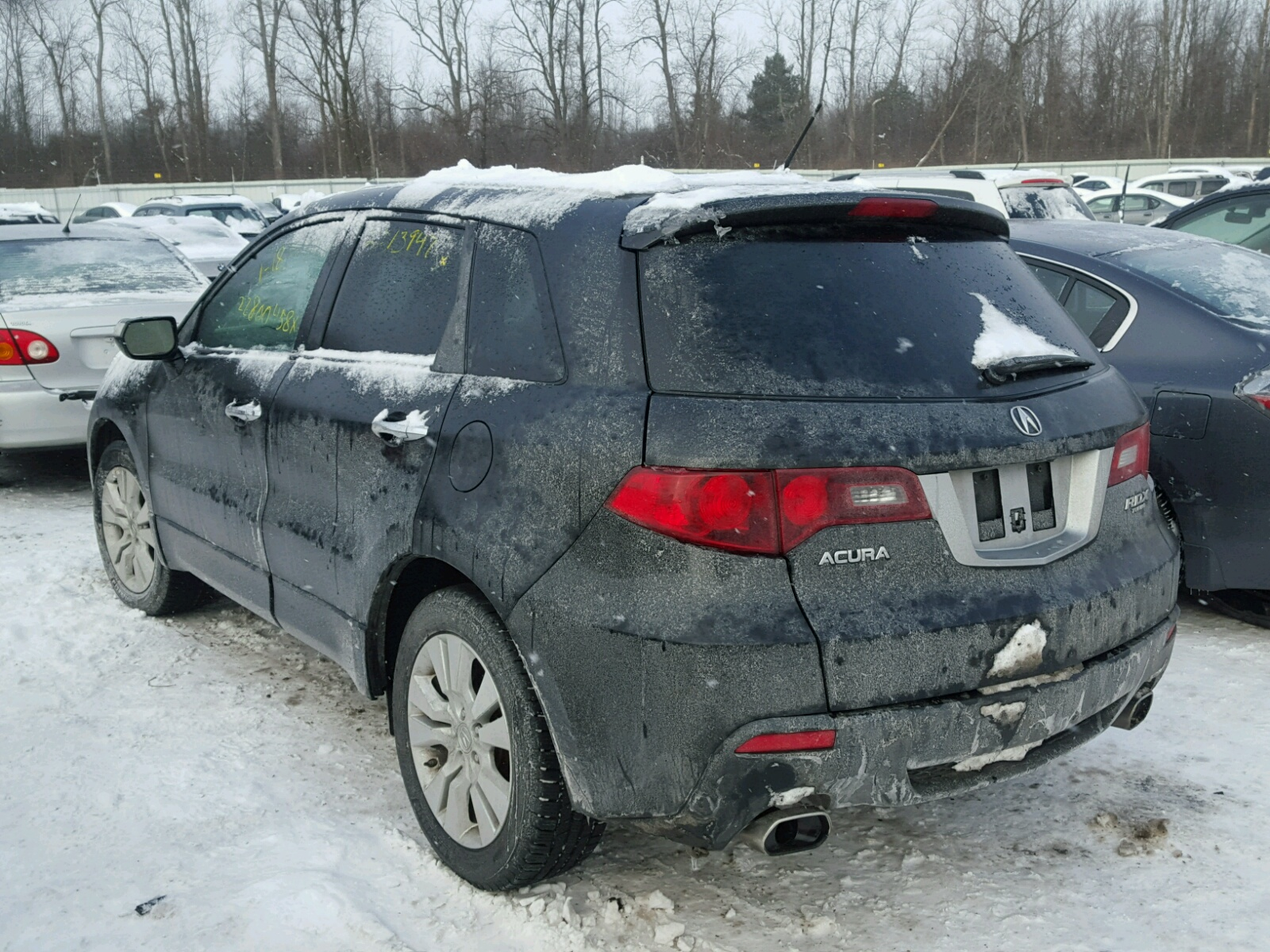 ny copart at leroy rdx acura lot for sale cars