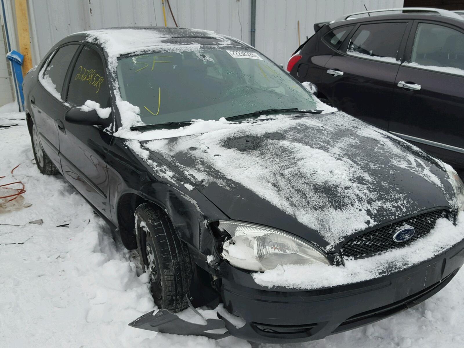 2007 Ford Taurus Se All Over Damage 1FAFP53U27A Sold
