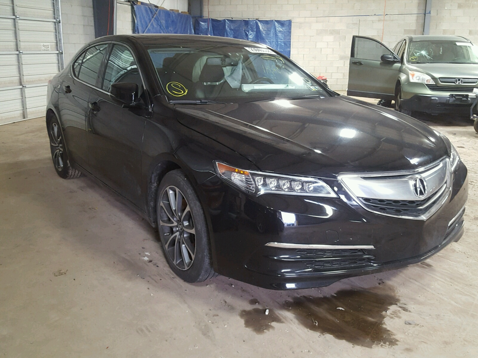 Auto Auction Ended on VIN 19UUB1F39GA 2016 ACURA TLX in TN
