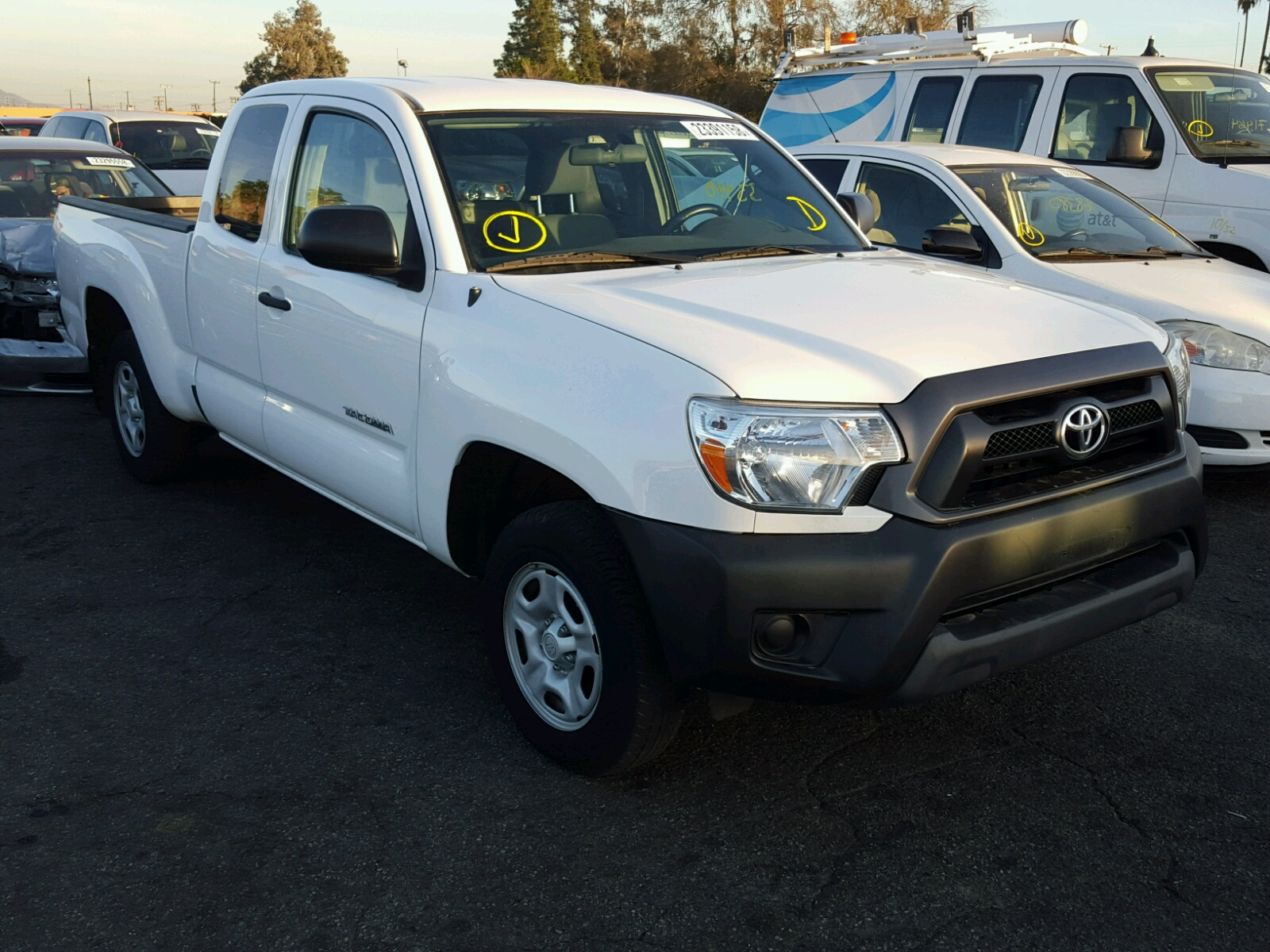 2015 Toyota Tacoma ACC for sale at Copart Van Nuys, CA Lot# 23391158