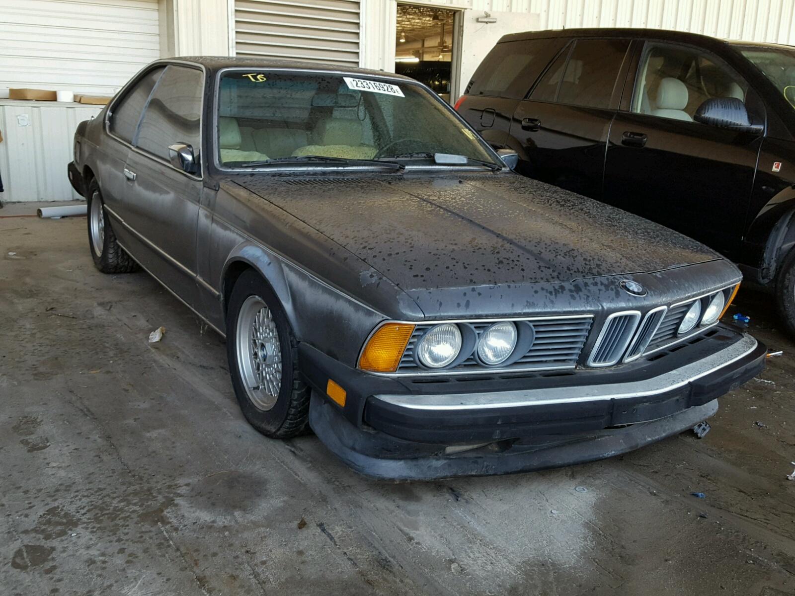 1985 BMW 635 CSI AU 3.4L