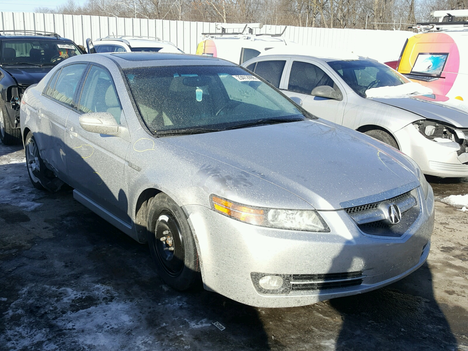 Auto Auction Ended On VIN UUAA ACURA TL In PA - Acura tl 08 for sale