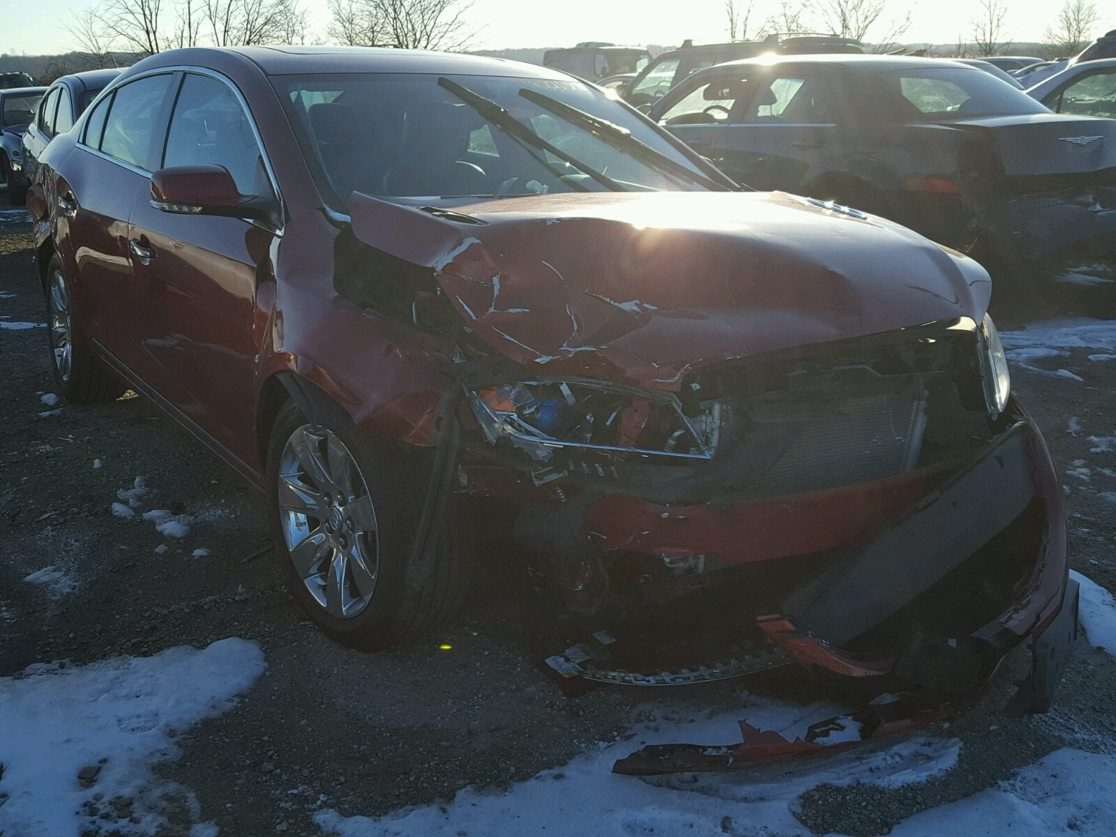 Auto Auction Ended on VIN 1G4GH5E30DF 2013 BUICK LACROSSE P