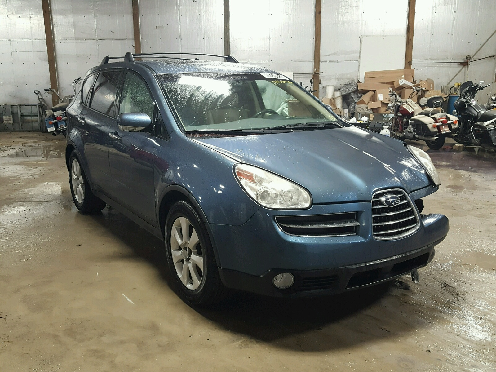 Auto Auction Ended on VIN 4S4WX86C 2006 SUBARU B9 TRIBECA