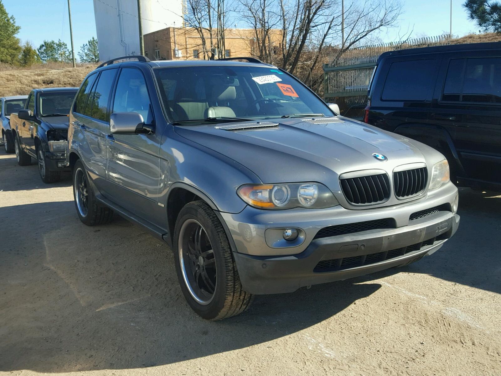 2005 BMW X5 4.4I 4.4L