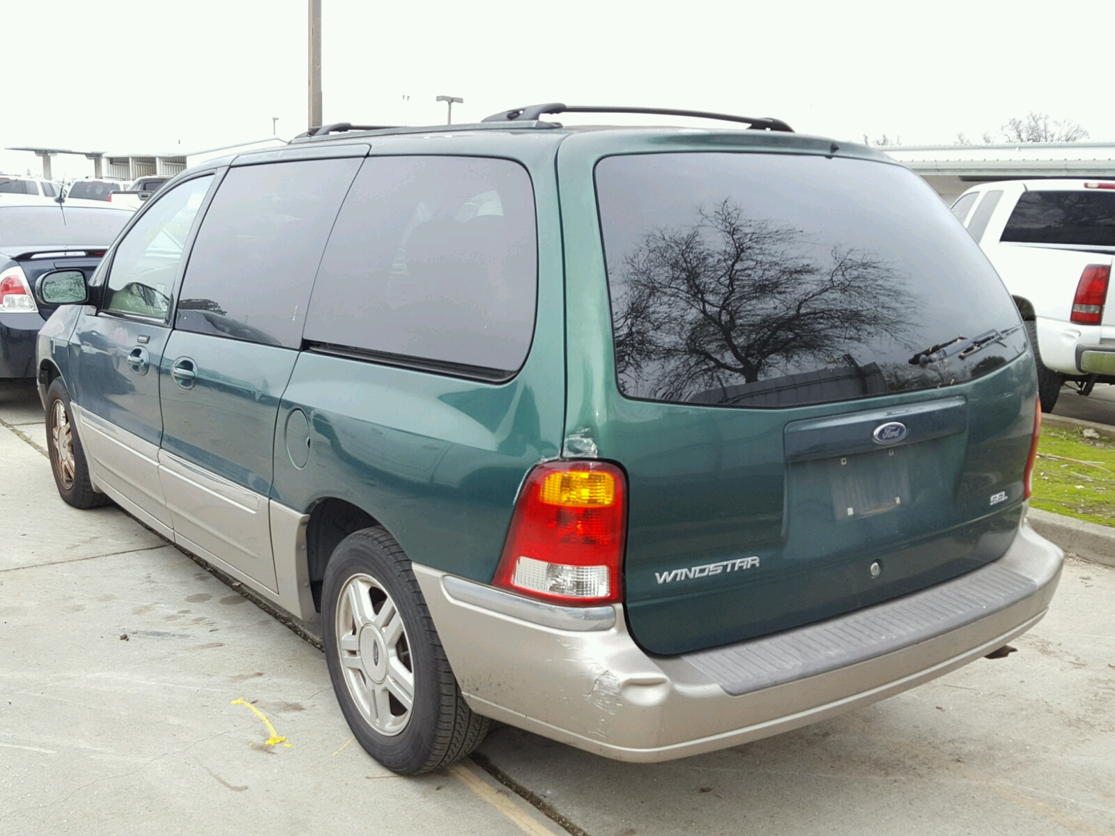2003 Ford Windstar S Front End Damage 2fmza564x3bb62731 Sold Sel 3