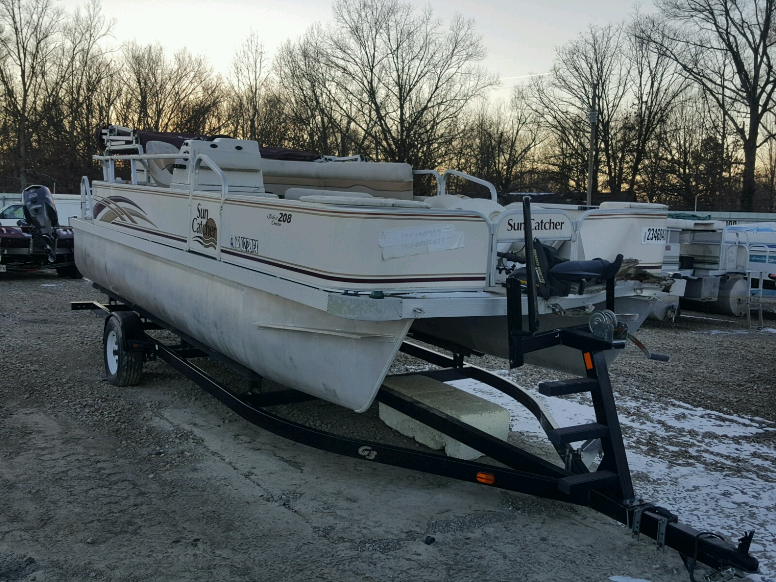 Salvage 2008 G3 BOAT for sale