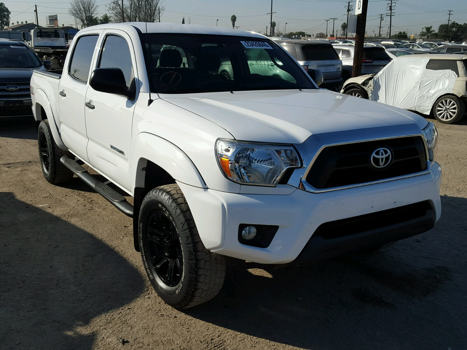 2015 toyota tacoma dou for sale at copart los angeles ca lot 23426848. Black Bedroom Furniture Sets. Home Design Ideas