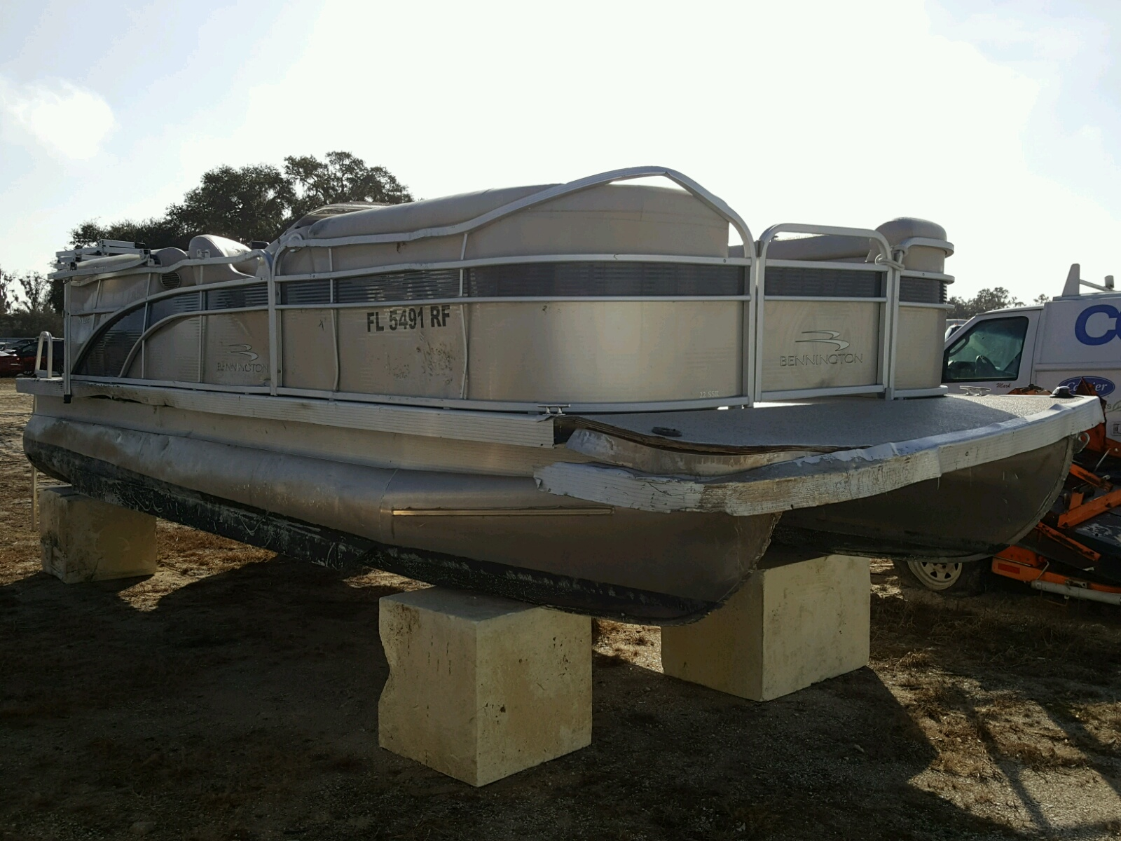 2017 Bennche Boat For Sale At Copart Riverview Fl Lot