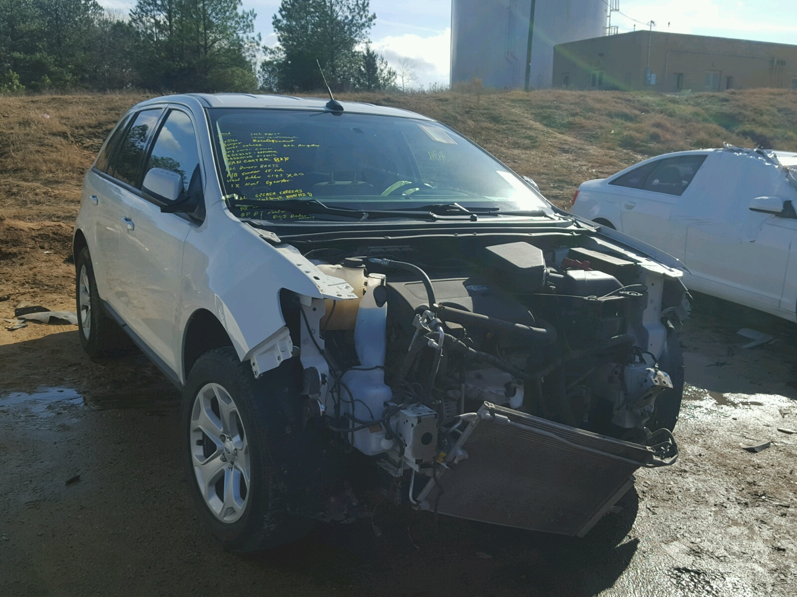Salvage 2013 Ford EDGE SEL for sale