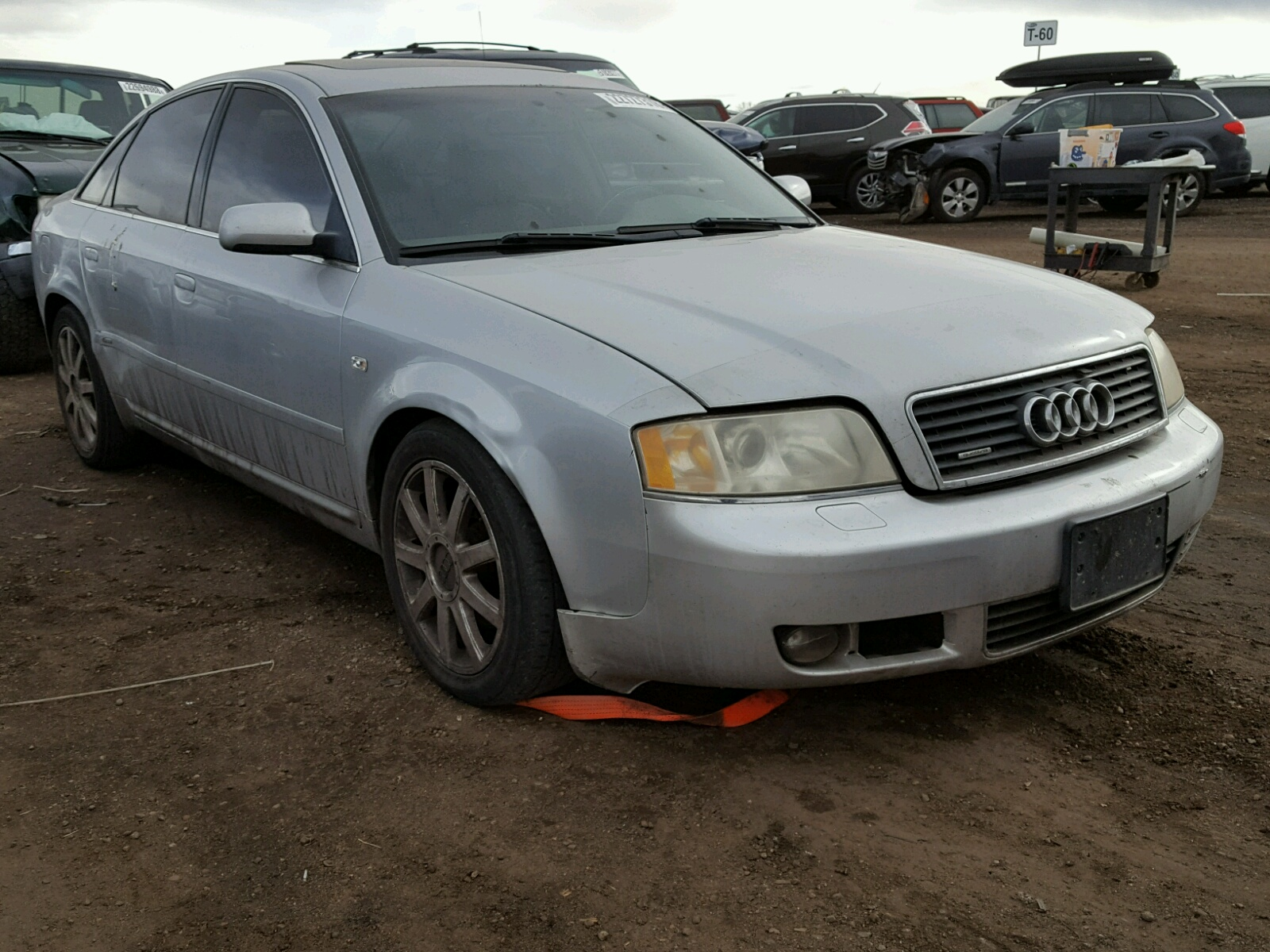 Auto Auction Ended on VIN: WAULT64B72N128886 2002 AUDI A6 3.0 QUA in TX - HOUSTON