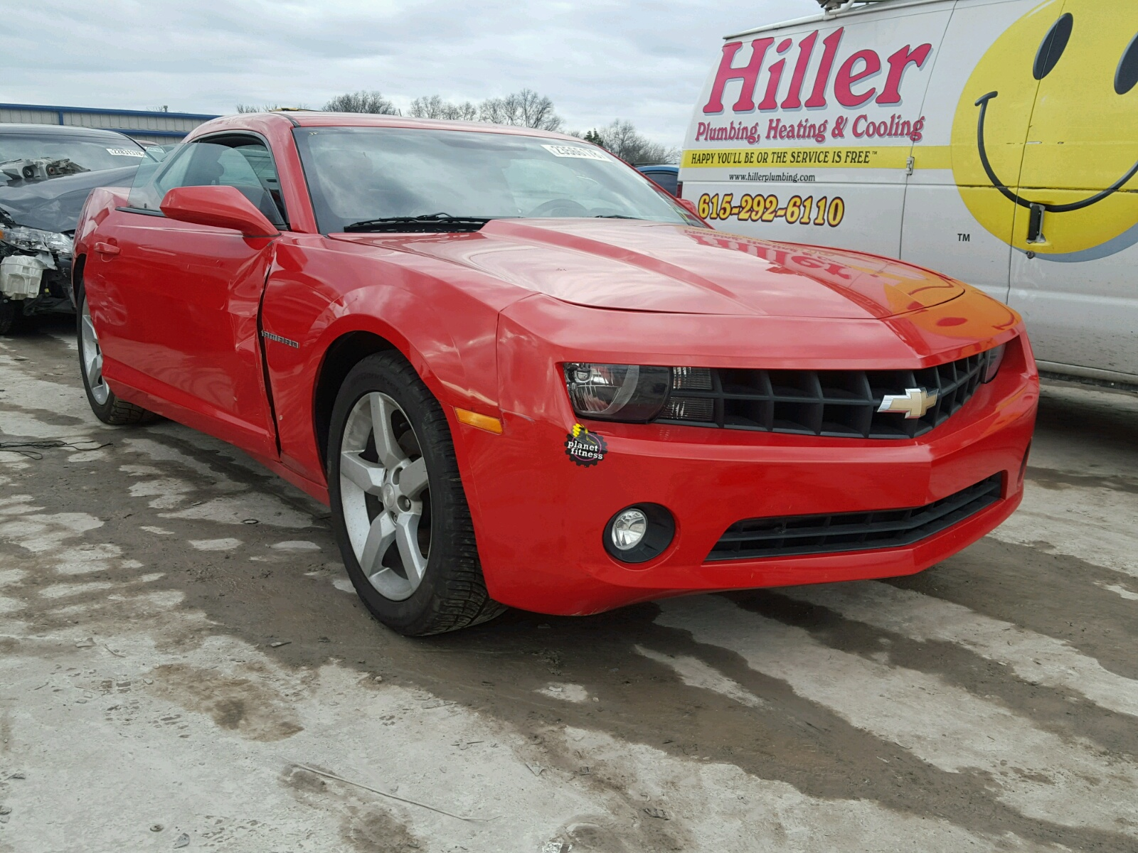 Auto Auction Ended on VIN 2G1FL1EP6D 2013 CHEVROLET CAMARO