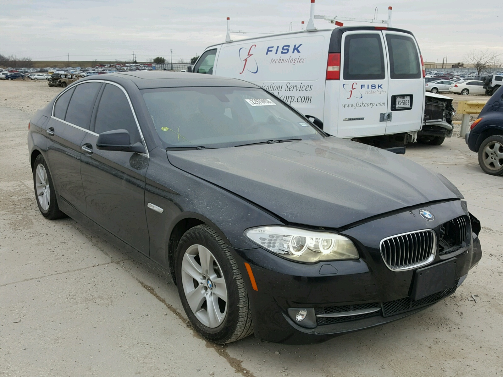 Auto Auction Ended On Vin Wbafr7c58dc822272 2013 Bmw 535