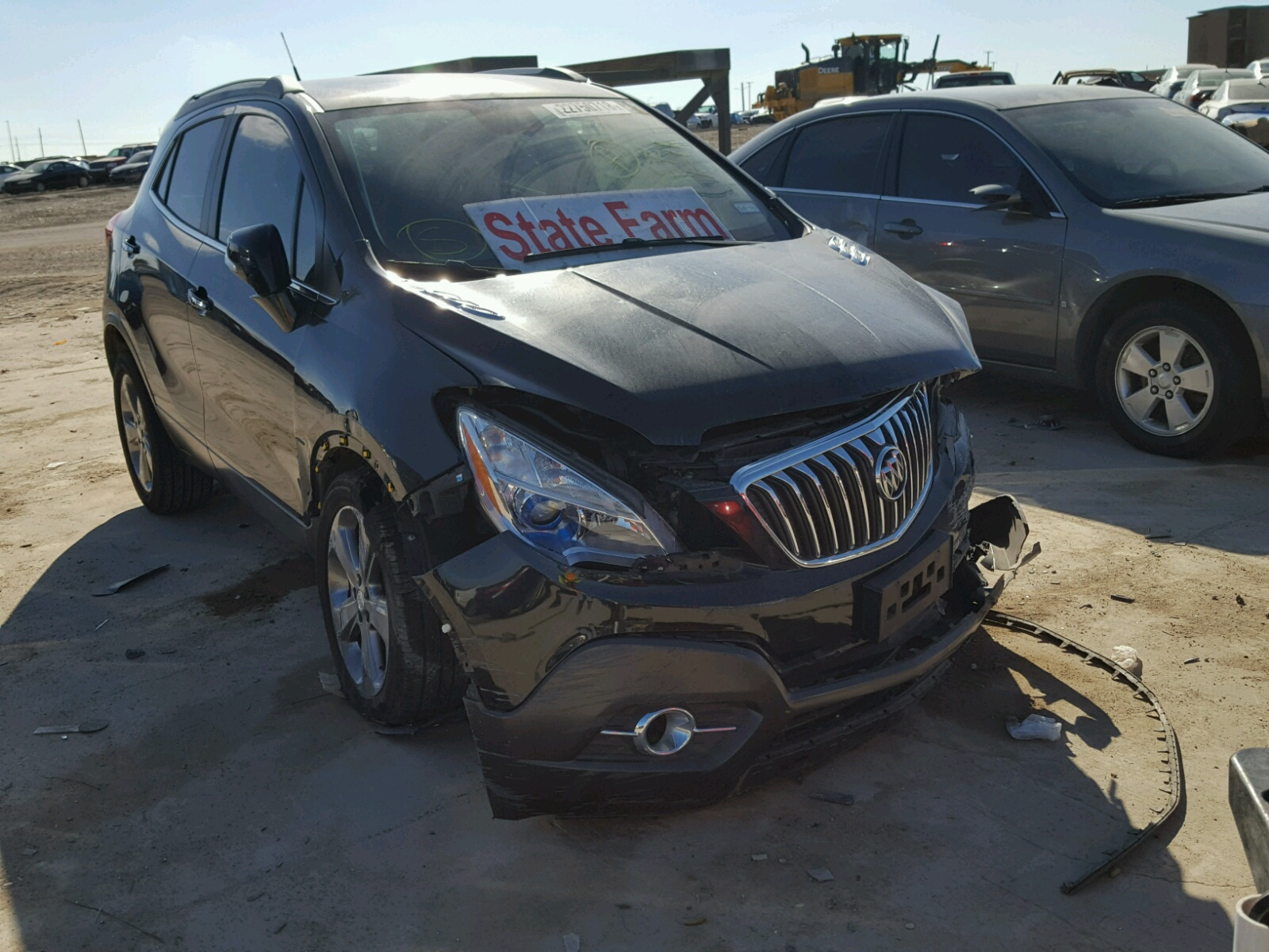 at buick cars encore woodhaven mi copart for sale lot