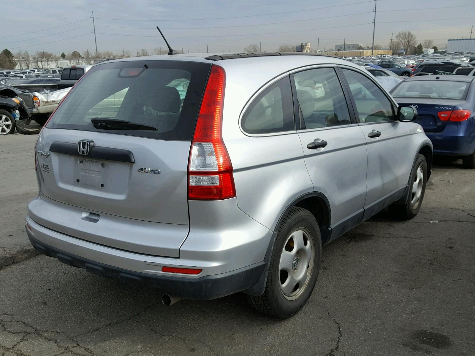2011 Honda Cr V Lx Front End Damage Jhlre4h32bc034105