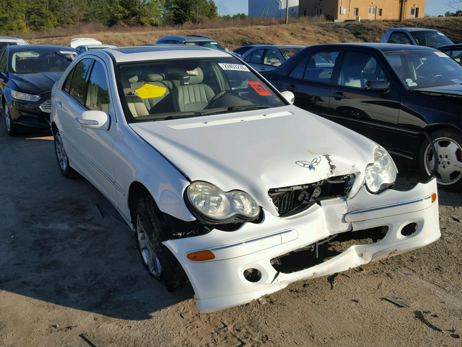 Auto Auction Ended on VIN WDDGF8BB4CA 2012 MERCEDES BENZ C