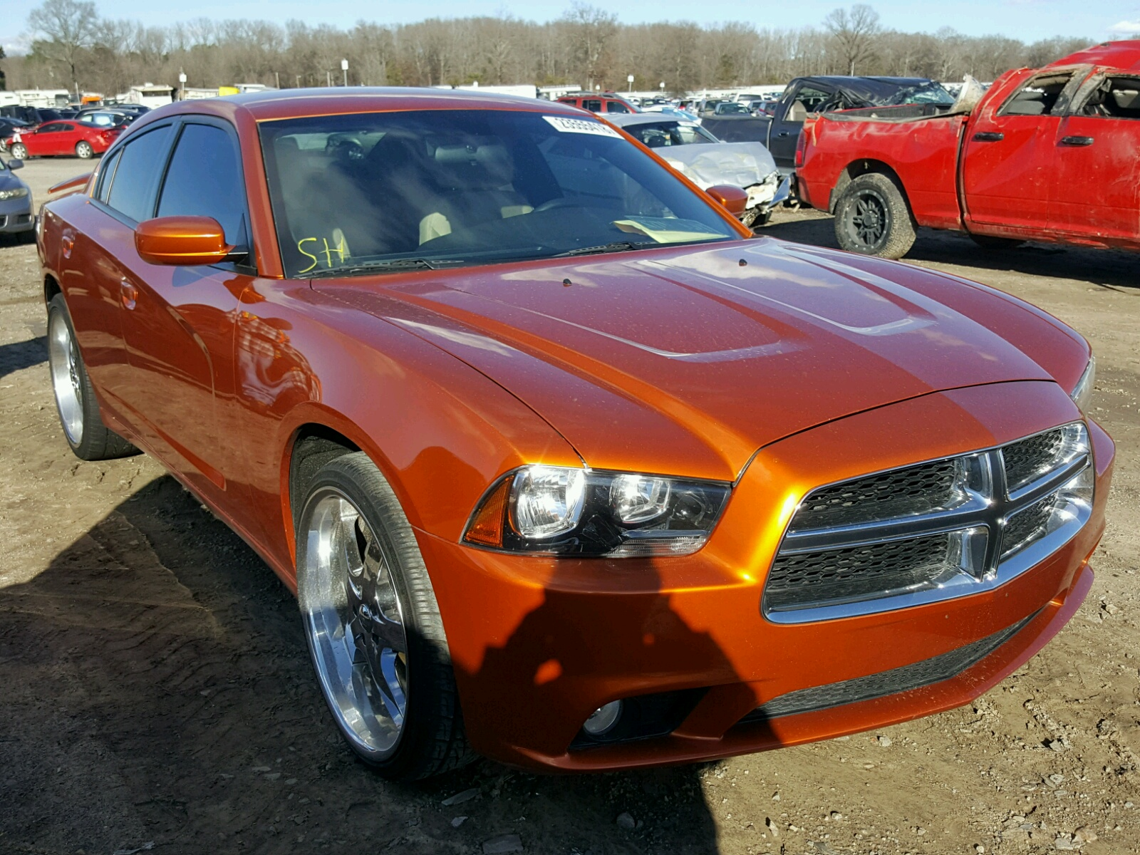 2011 Dodge Charger for sale at Copart Conway AR Lot