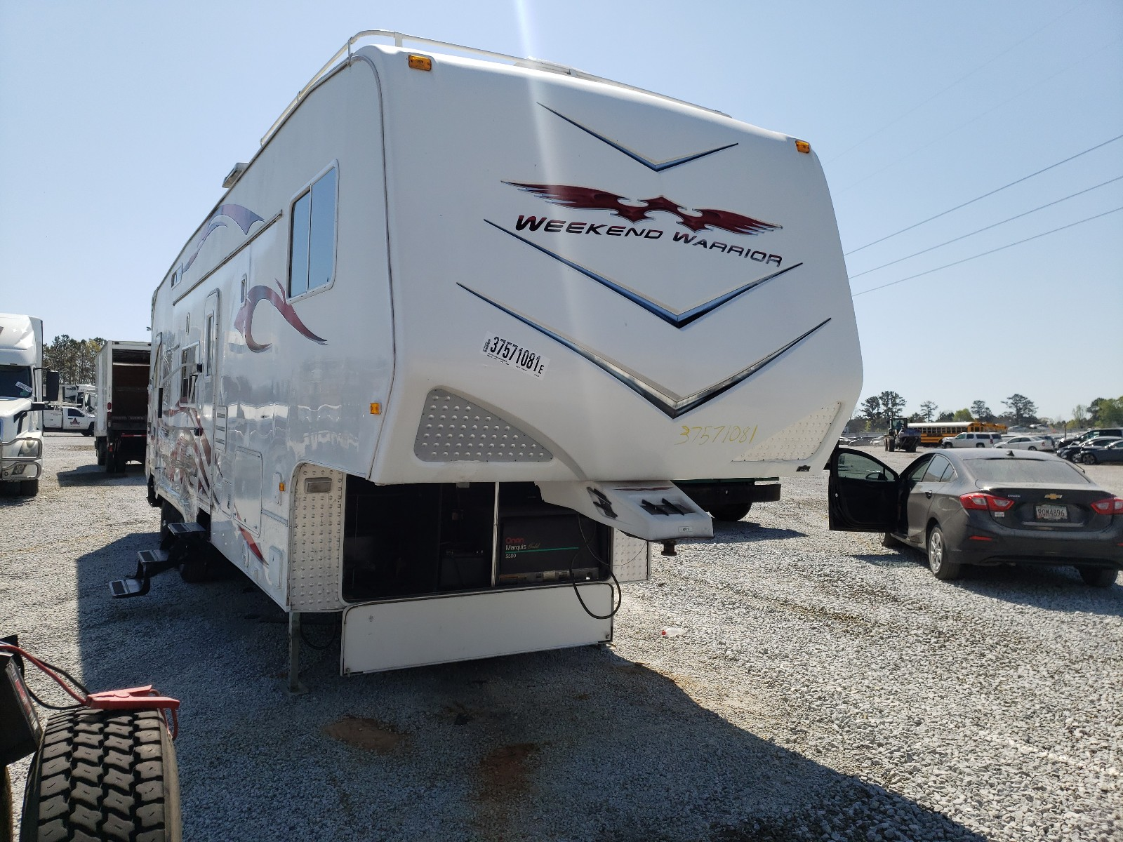 2008 Weekend Warrior Fifthwheel