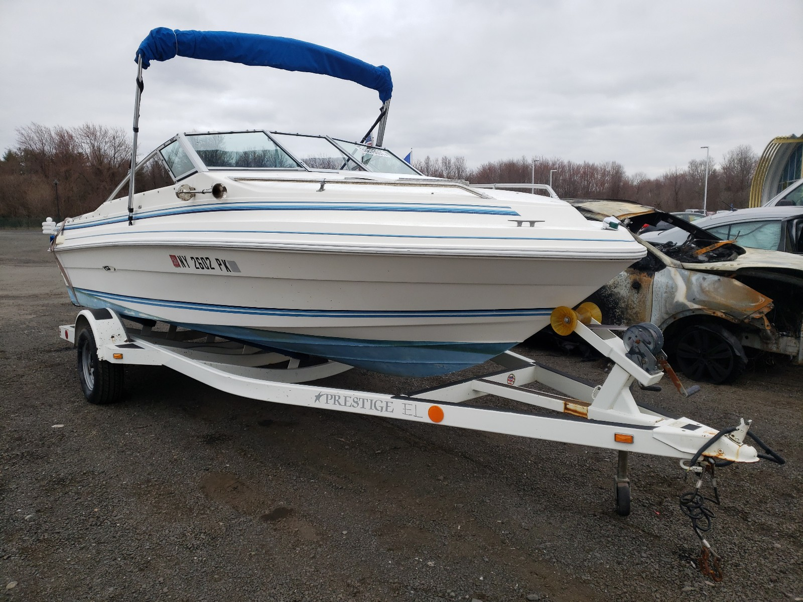 1985 Seaswirl Boat With Trailer