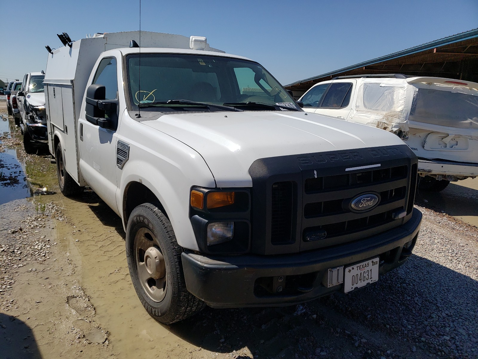 2008 FORD F350 SRW S - 1FDWF30518EE37554