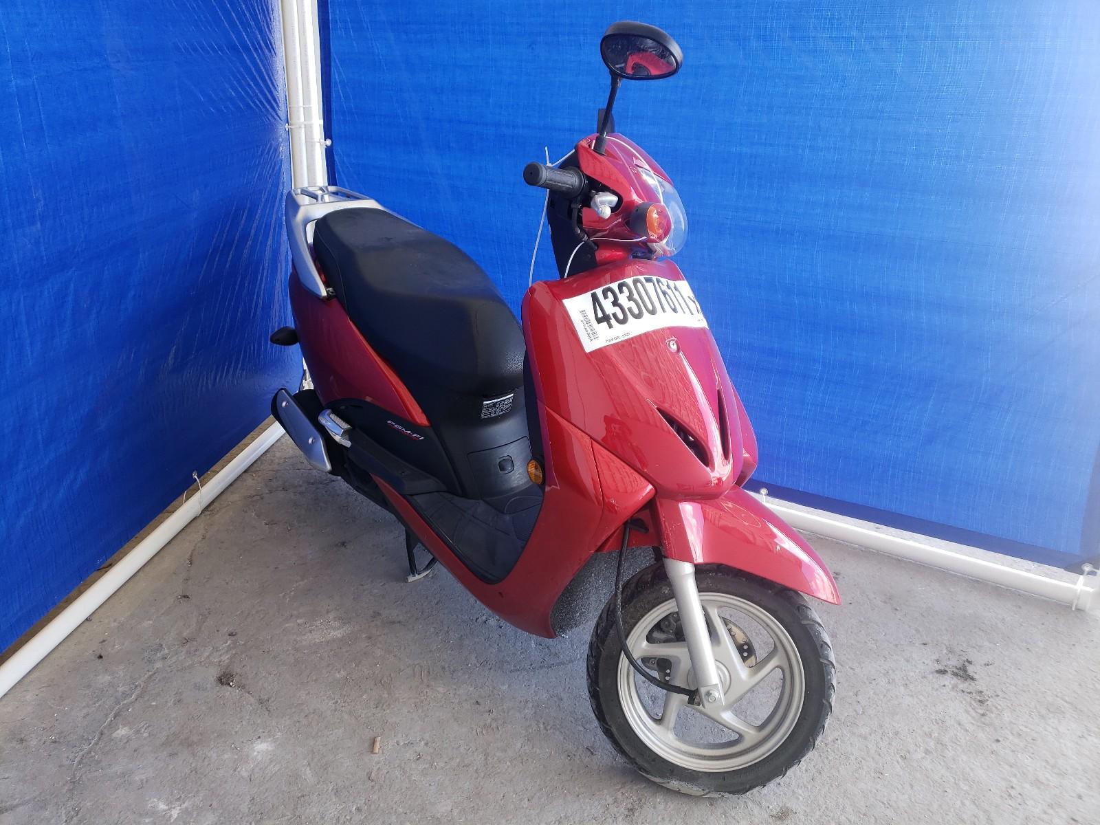 2010 HONDA NHX110 - LWBJF1908A1002186