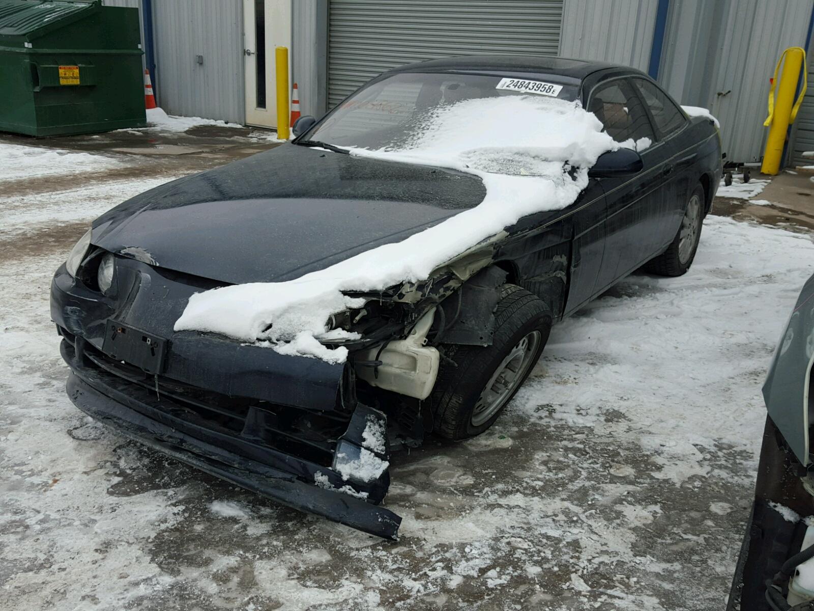 Auto Auction Ended On Vin Jt8uz30c0n0014862 1992 Lexus Sc 400 In Ks Super Coupe 40l Right View