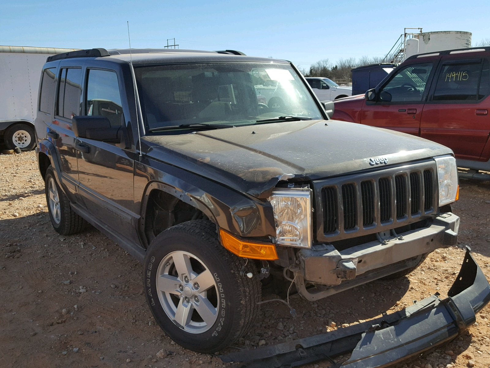 Auto Auction Ended On Vin 1c4rjfag5fc674574 2015 Jeep