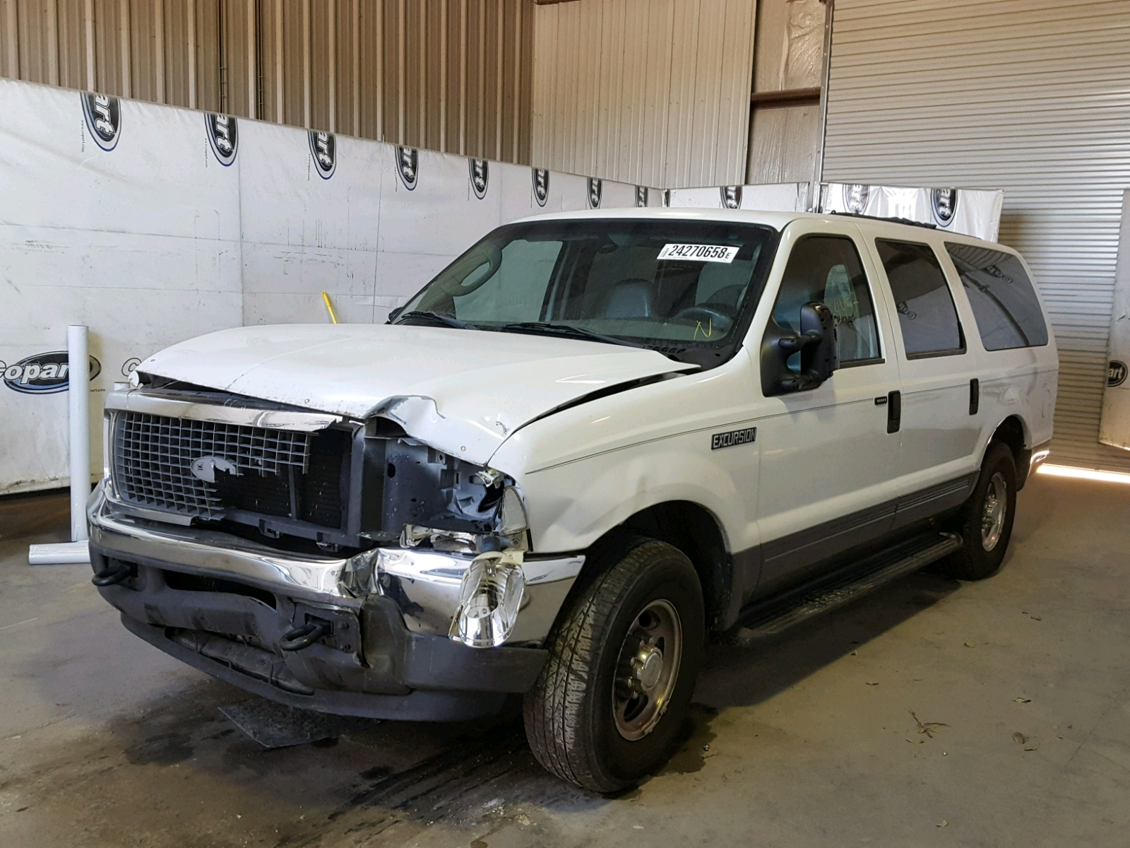 Auto Auction Ended on VIN 1FMNU40L04EC 2004 FORD EXCURSION in