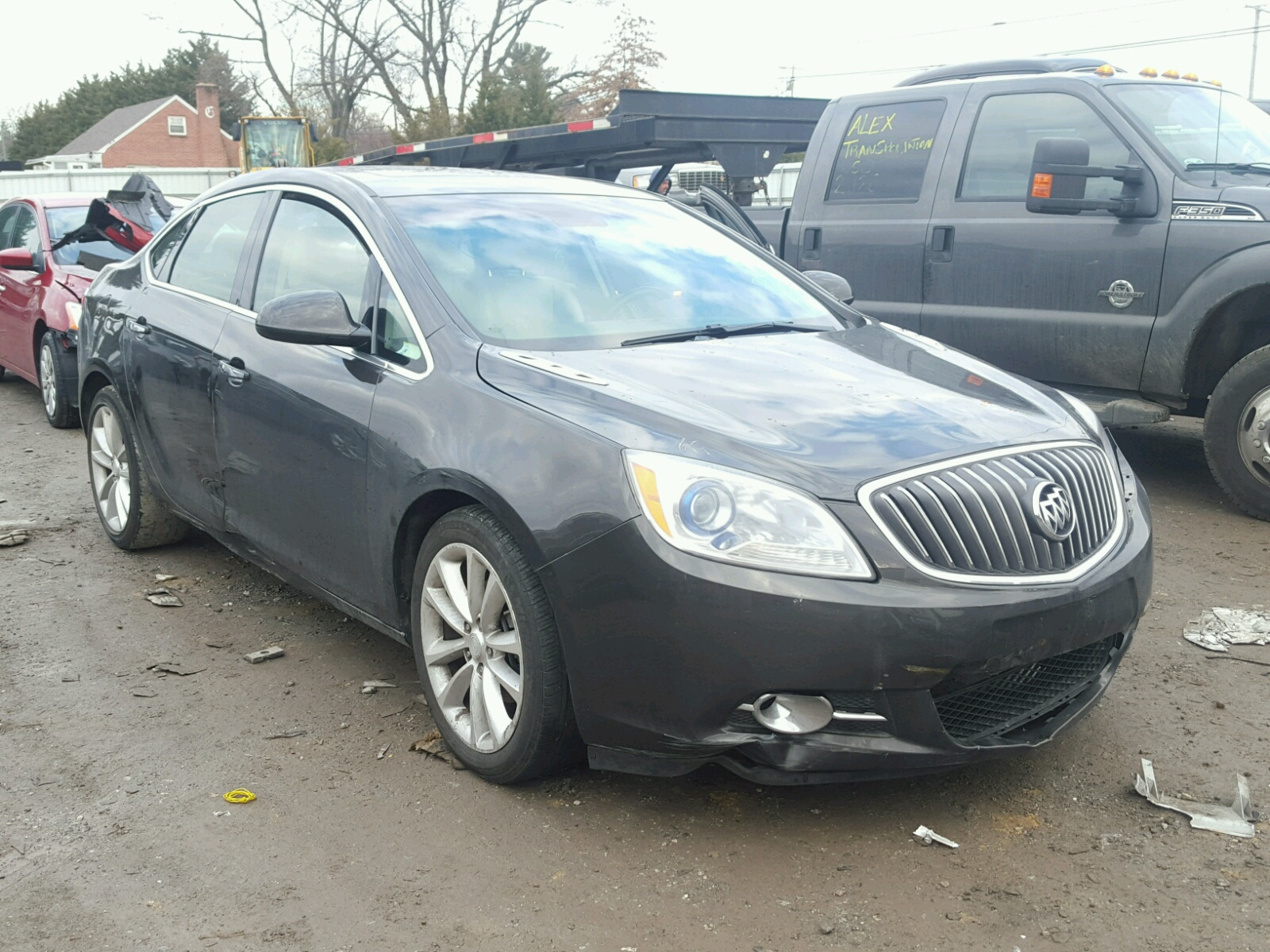 Auto Auction Ended on VIN 1G4PR5SK6C 2012 BUICK VERANO CON