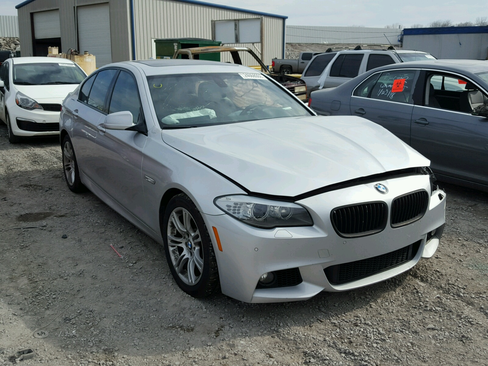 Auto Auction Ended on VIN: WBAJB1C56JG623849 2018 BMW ...