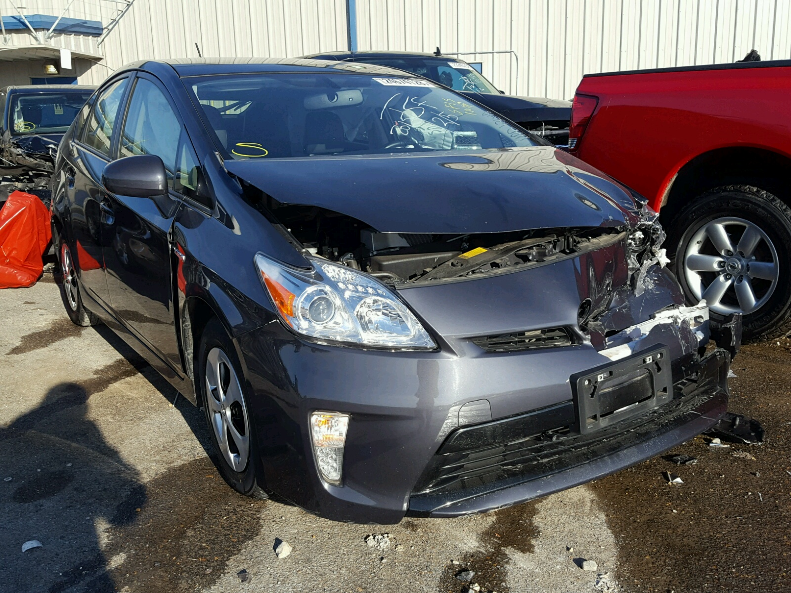 Auto Auction Ended on VIN JTDKN3DU2F 2015 TOYOTA PRIUS in TN