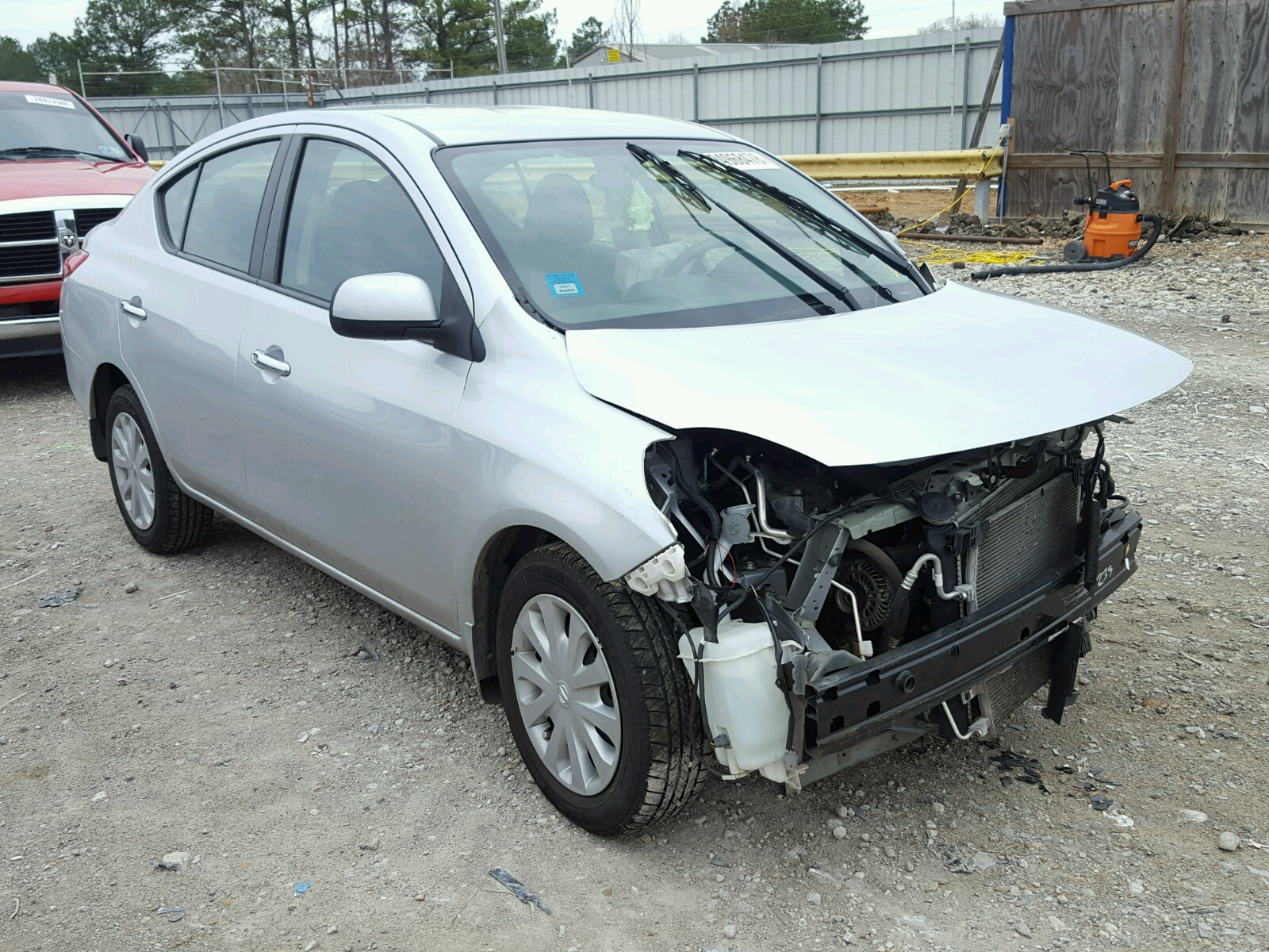 auto salvage nissan gray auctions on la copart of online lot title in orleans en new cert sale carfinder altima