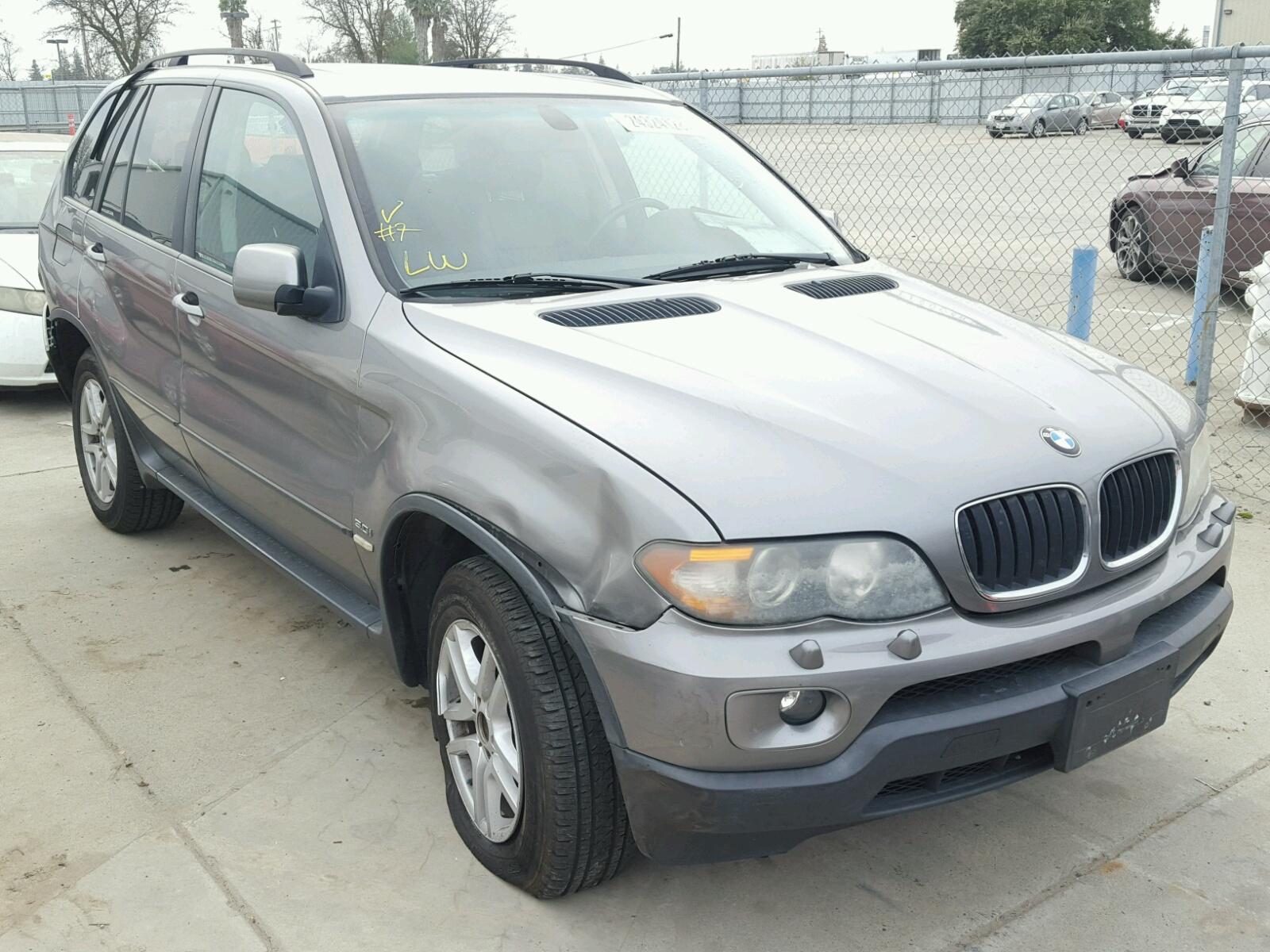 2005 BMW X5 3.0I 3.0L