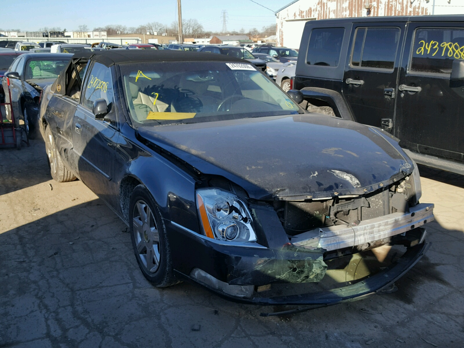 end sold damage luxury app cadillac dts front