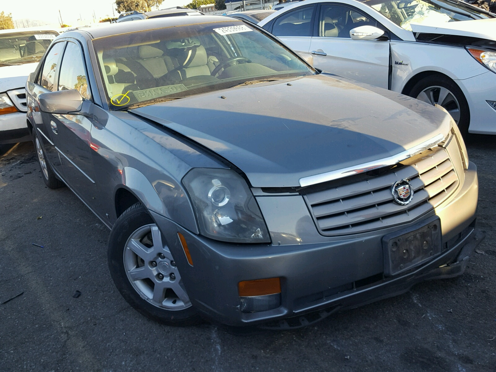 cts v repairable cadillac wrecked sale for supercharged